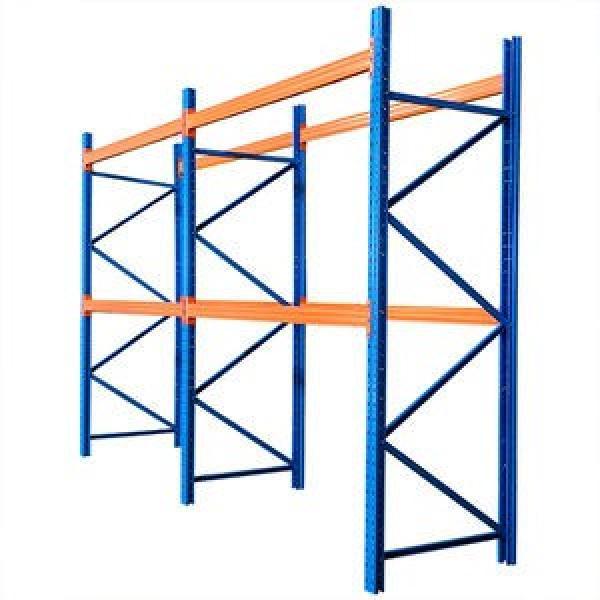 Heavy Duty Selective Stacking Galvanized Automatic Warehouse Storage Mezzanine Cantilever Teardrop Shelf Metal Steel Pallet Shuttle Rack