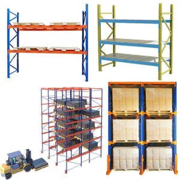 Industrial Warehouse Storage Steel Light Duty Metal Rack Metal Boltless Shelving
