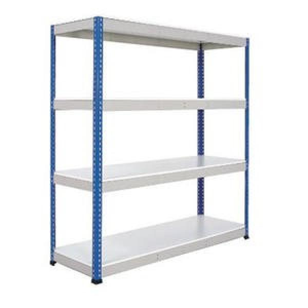 Industrial 4 Tiers Large Green Epoxy Big Storage Rack Steel Wire Shelf with Wheels
